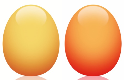 två ägg