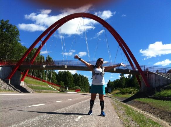 Välkomna till Åtvidaberg! (Jag i entrén)