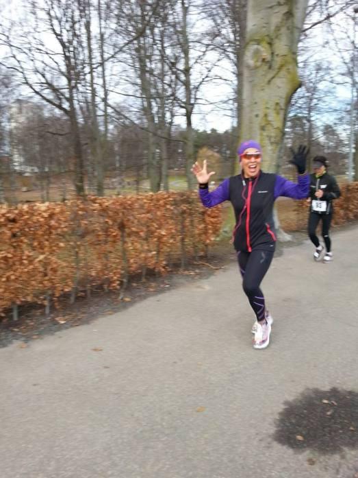 Var det så roligt att springa? :)