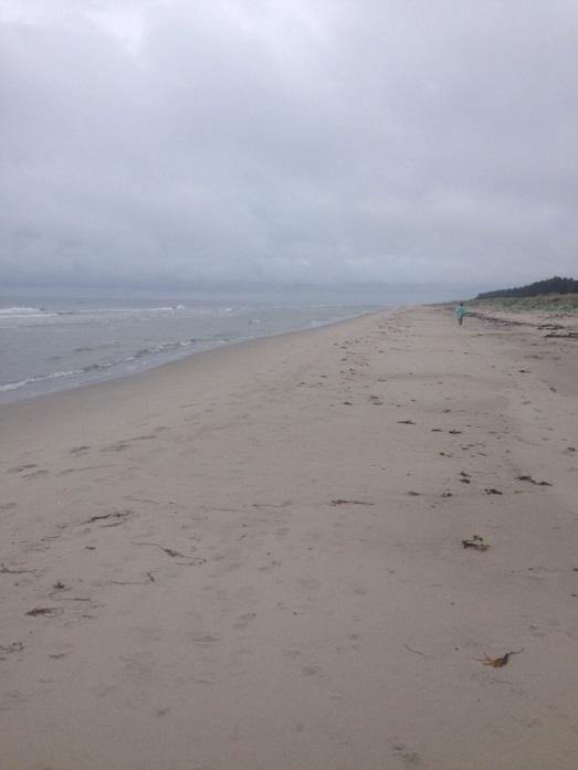 Stranden som tog aldrig slut