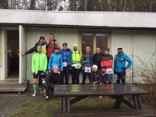 200 miles starten, regn och 12 tappra krigarna...